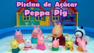 Peppa Pig na Piscina de Açúcar - Peppa Pig in the Sugar Pool #PeppaPig #TiaCris