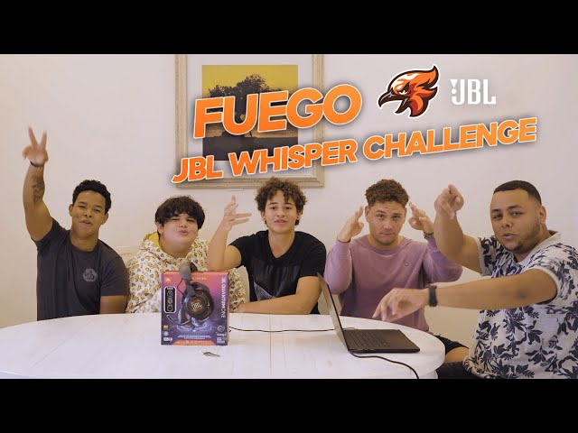 We did the JBL Whisper Challenge And The Results Are Too Funny!