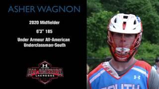 Asher Wagnon - Midfielder Class of 2020 - Lacrosse 2017 Summer Highlights