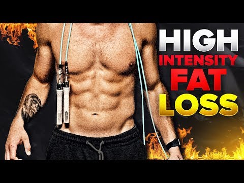 High Intensity Fat Loss Jump Rope Workout