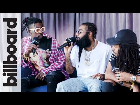 Flatbush Zombies on Their Album '3001 A Laced Odyssey' Going #1 | Meadows Festival 2017