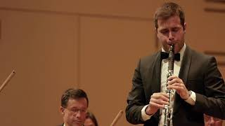 Sérgio Pires - C. von Weber - Concertino for Clarinet and Orchestra - Live Recording