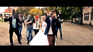 Teledysk Ślubny Dominiki i Tomka Bałkanica lipdub oraz backstage