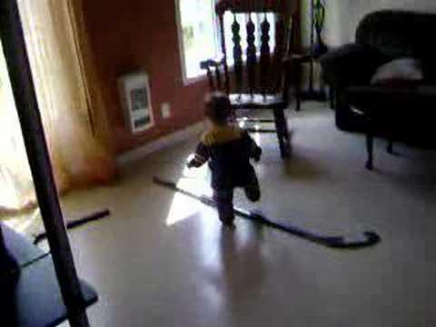 very sporting baby - bébé très sportif