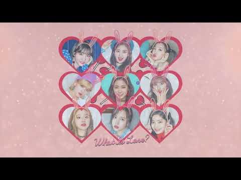 TWICE - What Is Love? (Chipmunk Version)