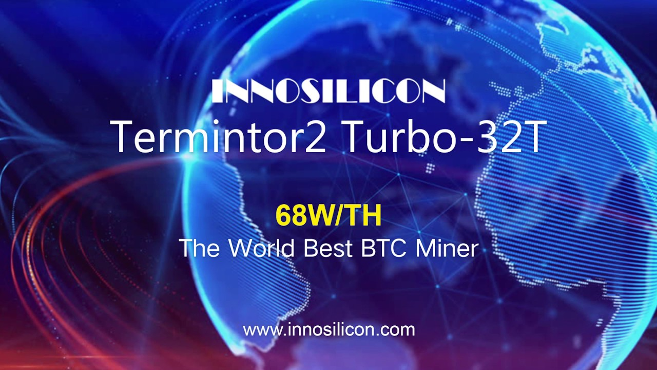 Innosilicon announces the World Best BTC Miner T2T+32T for