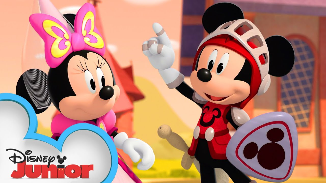 Mickey the Brave! | Mickey Mouse Funhouse | @Disney Junior