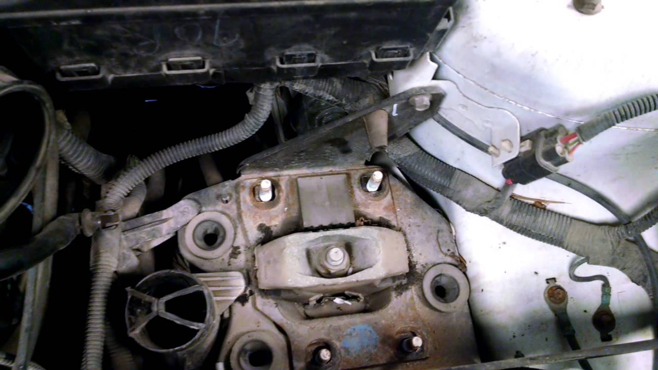 2003 ford focus vibration youtube for Ford focus motor mounts vibration