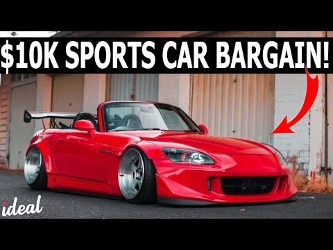 Top 5 Sports Cars Under 10k