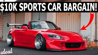 BEST SPORTS CARS UNDER $10,000
