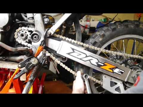 DRZ 400 Chain & Sprockets Replacement
