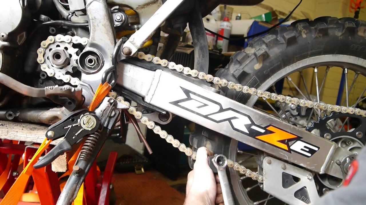 Suzuki Drz Chain Slider
