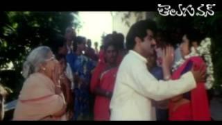 BalaKrishna - Meena - Brahmanandam - Comedy Scene - Muddula Mogudu