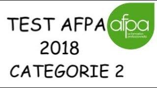 TEST AFPA 2018