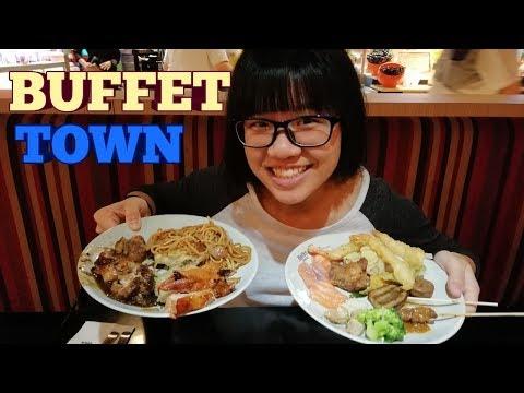 BUFFET TOWN FOOD TOUR- Review & Taste Test