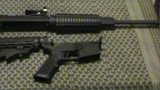Low Cost AR15 with Plum Crazy Firearms PCF Lower $500 Total Cost