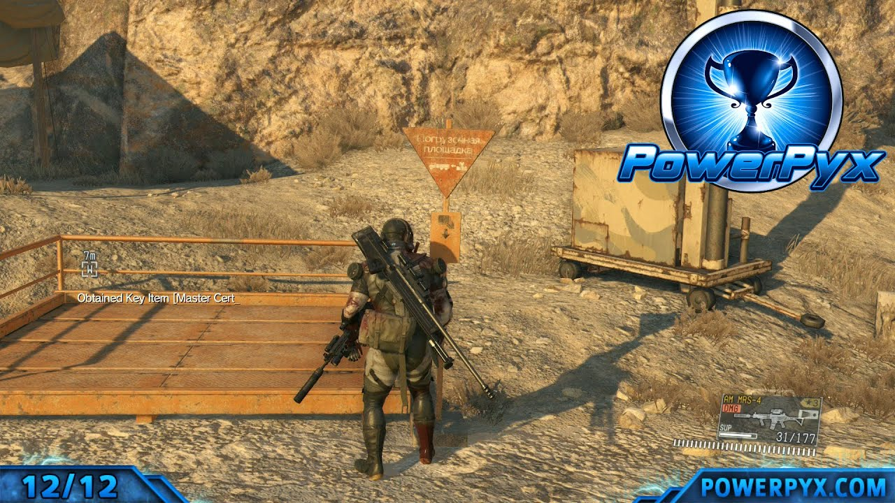 Metal Gear Solid V The Phantom Pain All Invoice Locations