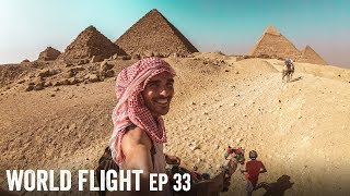 EXPLORING THE PYRAMIDS! - World Flight Episode 33