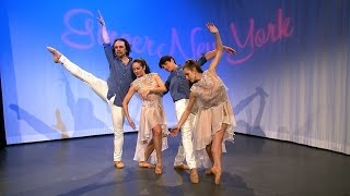 AGDT Ballet Dancers on GingerNewYork TV Show