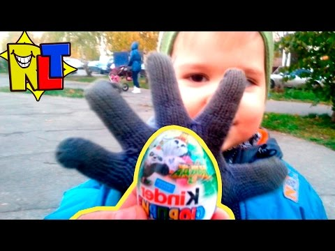 Кунг Фу Панда 3 Киндер Сюрприз в походе   Kinder Surprise Kung Fu Panda 3 hike