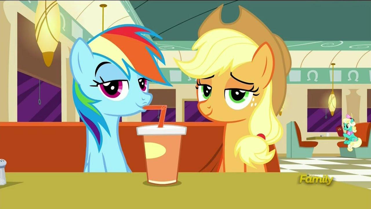Applejack and rainbow dash get married