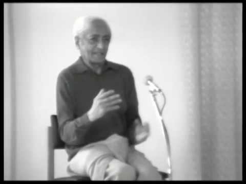 J. Krishnamurti - Brockwood Park 1976 - School Discussion 1 - Acting without contradiction