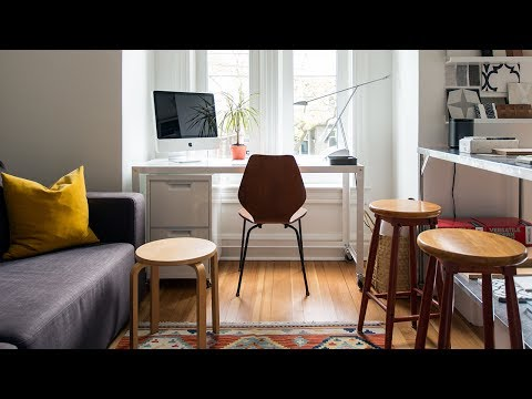 Interior Design — An Interior Designer's Own Home Office and Attic Addition