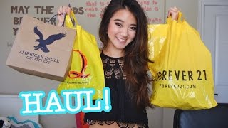 HAUL: AE, Forever 21, Fashion Q Thumbnail