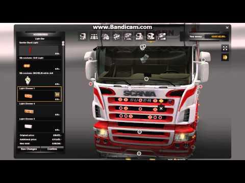 Ets2 scania r560 v8 interior youtube - Ets2 Scania Interior Tuning Mit Vabis Lenkrad Car Tuning