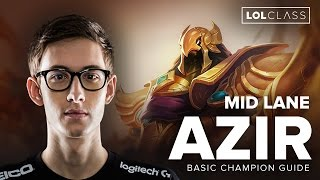 Azir Mid S6 Carry Guide by TSM Bjergsen | League of Legends