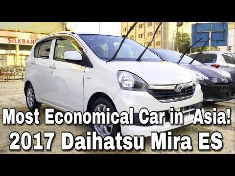 Most ECONOMICAL CAR in Pakistan! Daihatsu Mira ES: Complete Review/ TestDrive.