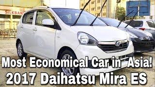 Most ECONOMICAL CAR in Pakistan! Daihatsu Mira ES: Complete Review/ TestDrive.