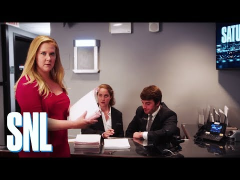 Amy Schumer Goes Behind the Scenes at SNL