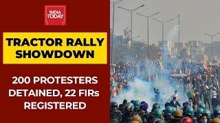 Tractor Rally Showdown: 200 Protesters Detained For Rioting, Damaging Public Property