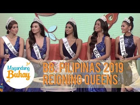 Bb Pilipinas 2019 queens share details about themselves before joining the pageant   Magandang Buhay