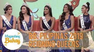 Bb Pilipinas 2019 queens share details about themselves before joining the pageant | Magandang Buhay