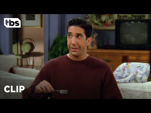 Friends: Ross Has An Allergic Reaction To Kiwis (Season 2 Clip) | TBS