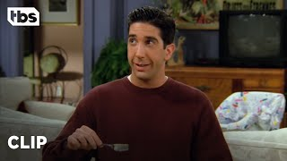 Friends: Ross Has An Allergic Reaction to Kiwis (Season 2 Clip)   TBS