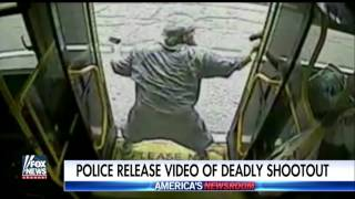 Dramatic video of deadly shootout on public bus