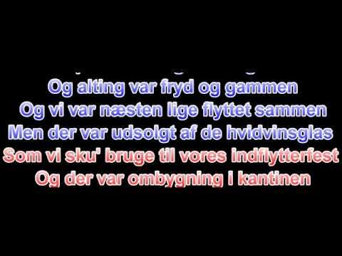 Thomas Holm - Ikea - Lyrics