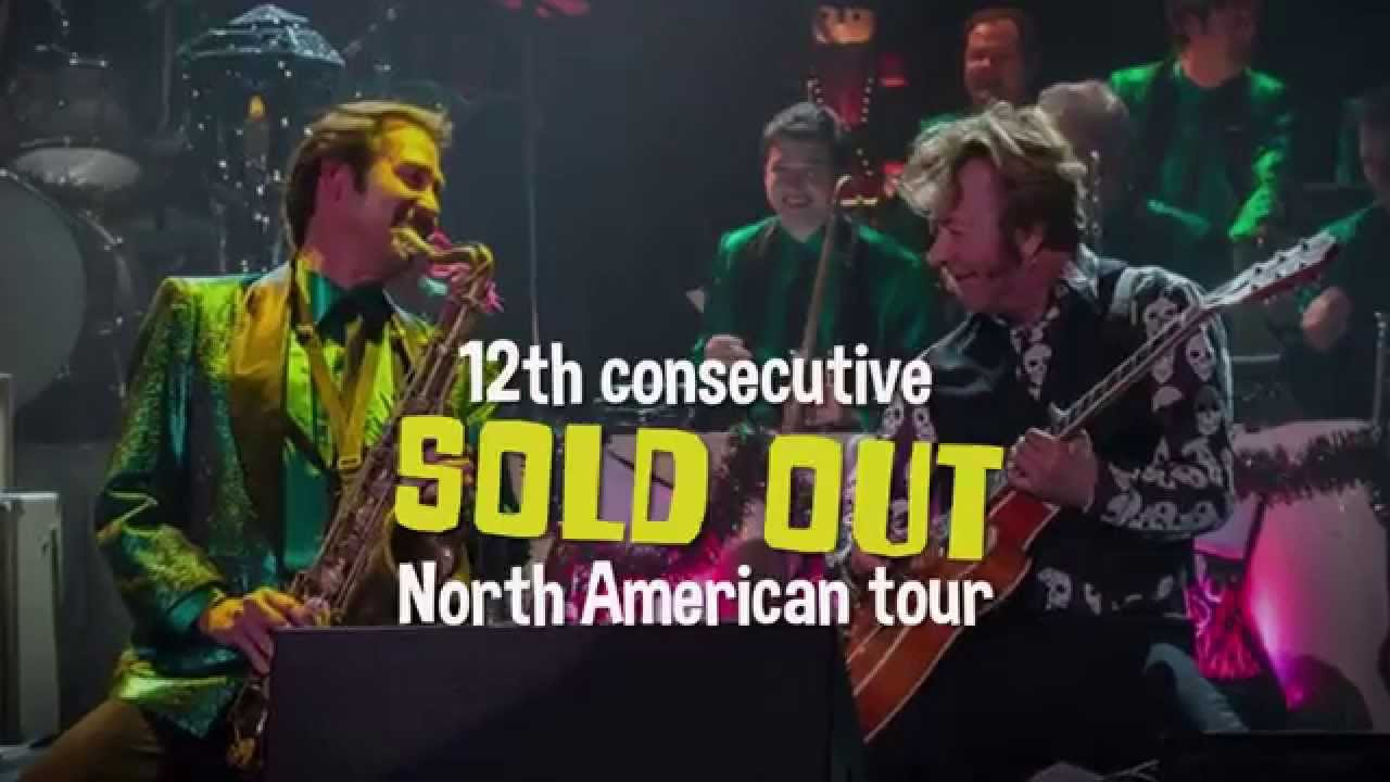 brian setzer orchestra 12th annual christmas rocks tour december 5 2015 youtube. Black Bedroom Furniture Sets. Home Design Ideas