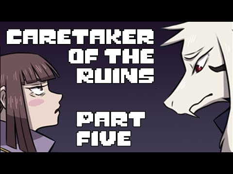 Caretaker of the Ruins Part 5 (Undertale Comic Dub)
