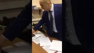 Видео задержания начальника ОРЧ МВД Дагестана