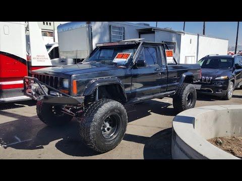1991 Jeep Comanche 4x4 pickup truck - YouTube