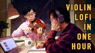 Classical Musicians Make Violin LoFi Track in 1 Hour