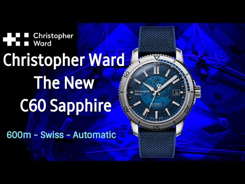 Christopher Ward New C60 Sapphire - 600m Selita Swiss Automatic Trident C65