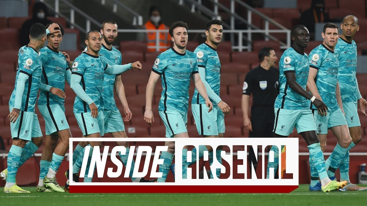 Download Inside Arsenal: Arsenal 0-3 Liverpool | The best view of the Reds' win at the Emirates