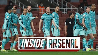 Inside Arsenal: Arsenal 0-3 Liverpool | The best view of the Reds' win at the Emirates