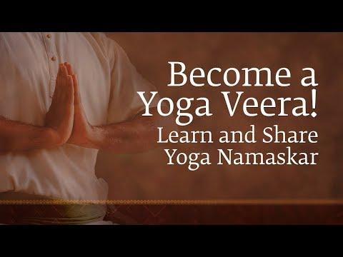 Become a Yoga Veera! - Learn and Share Yoga Namaskar