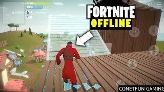 🔘 Offline Fortnite Clone!! TRAINER.IO Android Gameplay